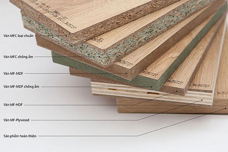 Phân loại gỗ công nghiệp - Ưu nhược điểm gỗ công nghiệp hiện nay