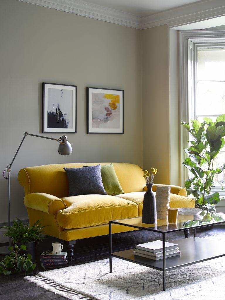 Vỏ bọc sofa ngoài vai trò làm đẹp còn giúp bảo vệ sofa khỏi bị bám bẩn.