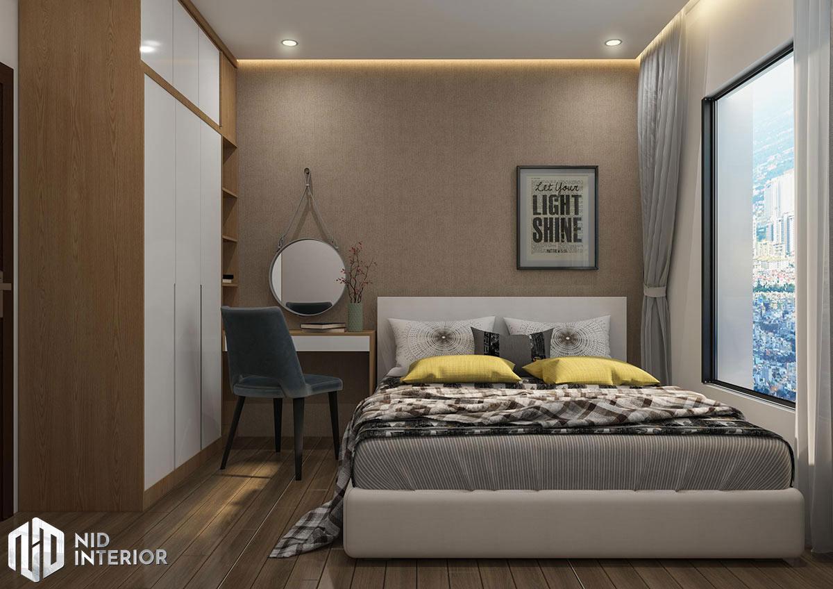 Thiết kế nội thất căn hộ 2 phòng ngủ - Phòng ngủ