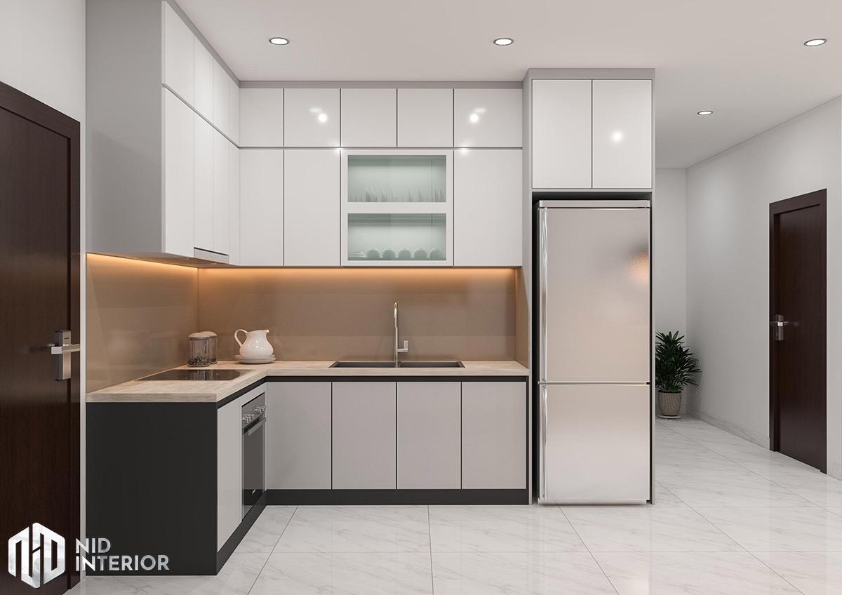 Thiết kế nội thất căn hộ 2 phòng ngủ - Khu bếp