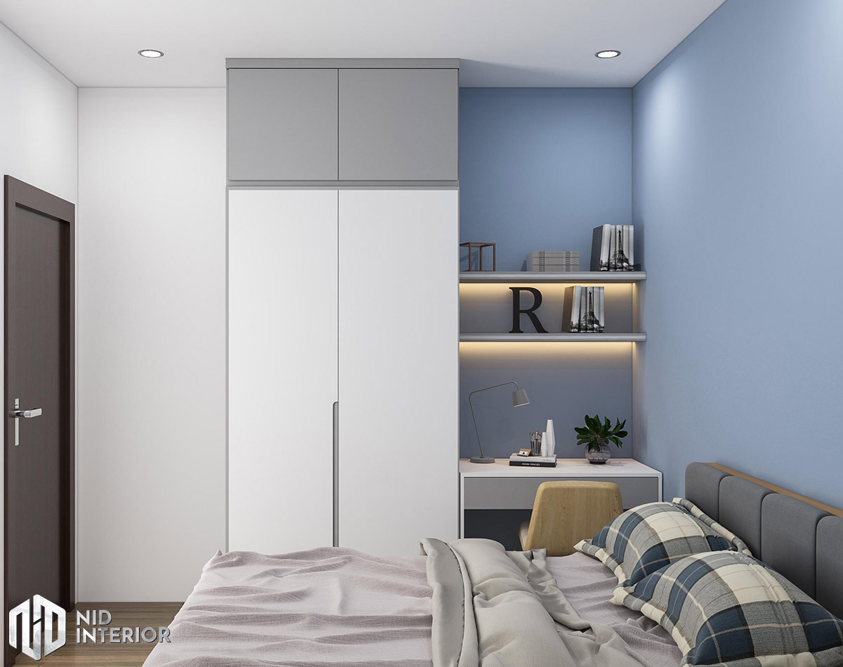 Thiết kế nội thất căn hộ 2 phòng ngủ - Phòng nhỏ