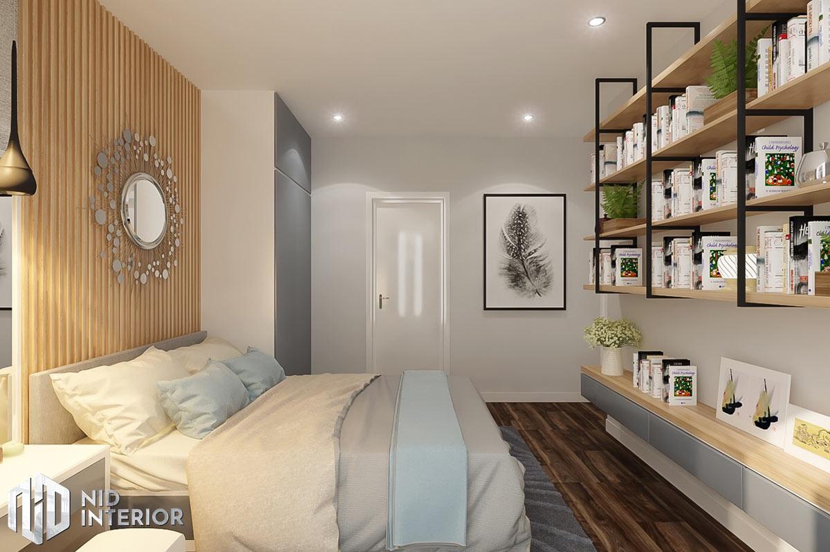 Thiết kế nội thất căn hộ DIC Phoenix - Phòng ngủ nhỏ