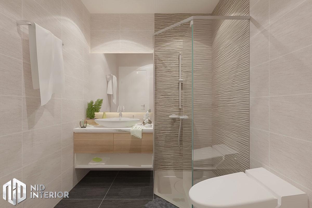 Thiết kế nội thất căn hộ DIC Phoenix - Phòng vệ sinh