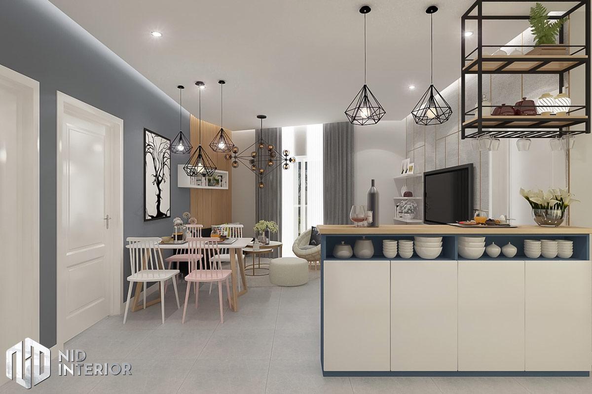 Thiết kế nội thất căn hộ DIC Phoenix - Bàn ăn