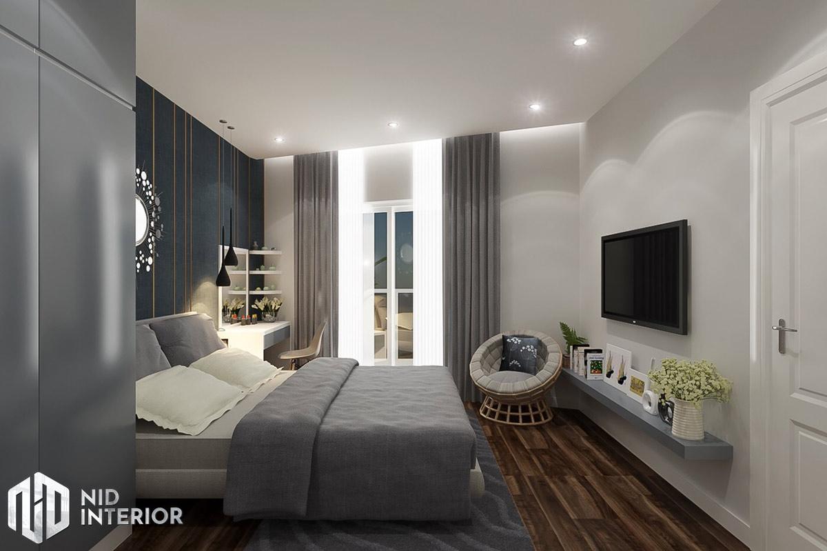 Thiết kế nội thất căn hộ DIC Phoenix - Phòng ngủ master