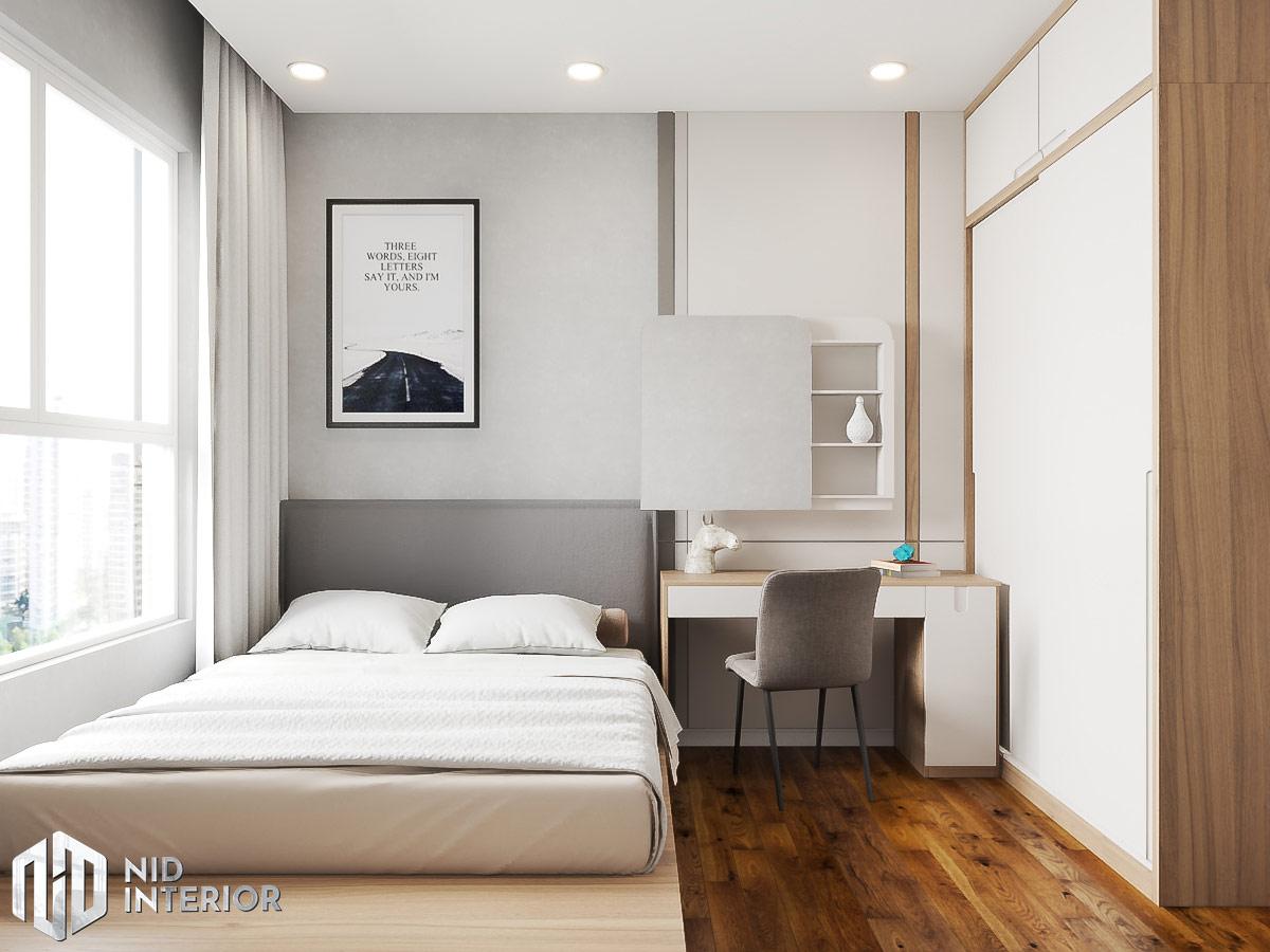 Thiết kế nội thất căn hộ Sunrise Riverside - Phòng ngủ nhỏ