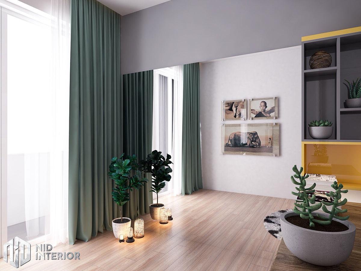 Thiết kế nội thất nhà phố 4mx18m - Góc thư giãn