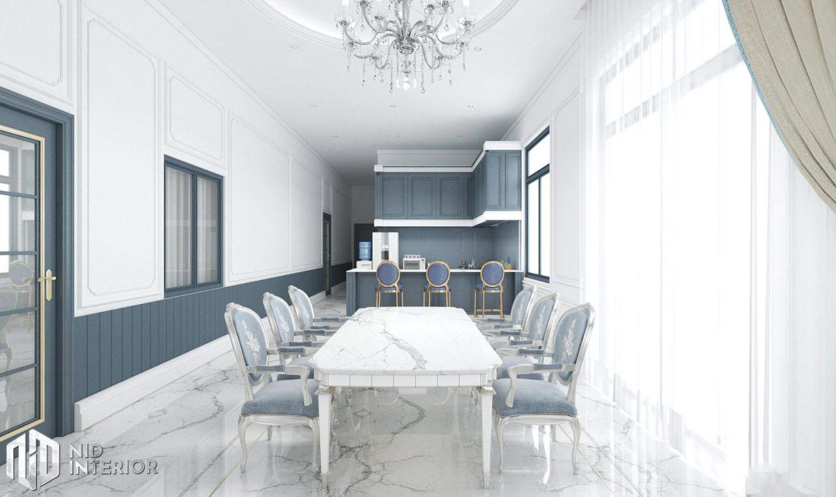 Thiết kế nội thất nhà phố Phan Rang - Bàn ăn