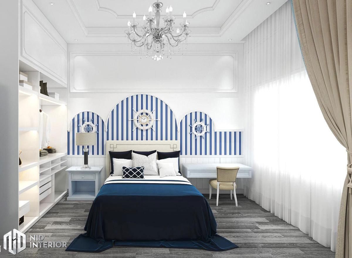 Thiết kế nội thất nhà phố Phan Rang - Phòng ngủ nhỏ