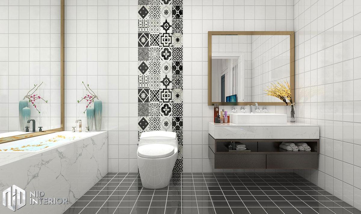 Thiết kế nội thất nhà phố Phan Rang - Phòng vệ sinh