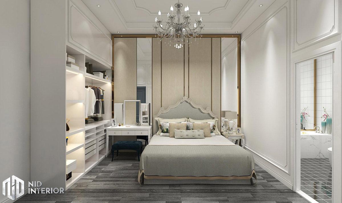 Thiết kế nội thất nhà phố Phan Rang - Phòng ngủ chính
