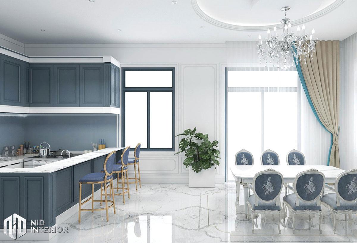 Thiết kế nội thất nhà phố Phan Rang - Phòng ăn