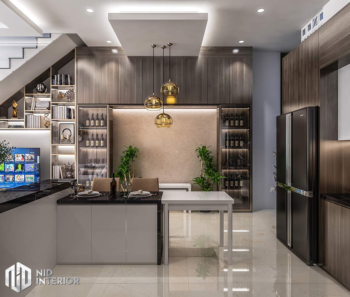 Thiết kế nội thất nhà phố Long An - Bàn ăn