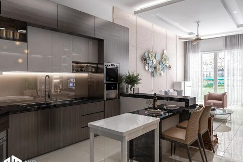 Thiết kế nội thất nhà phố Long An