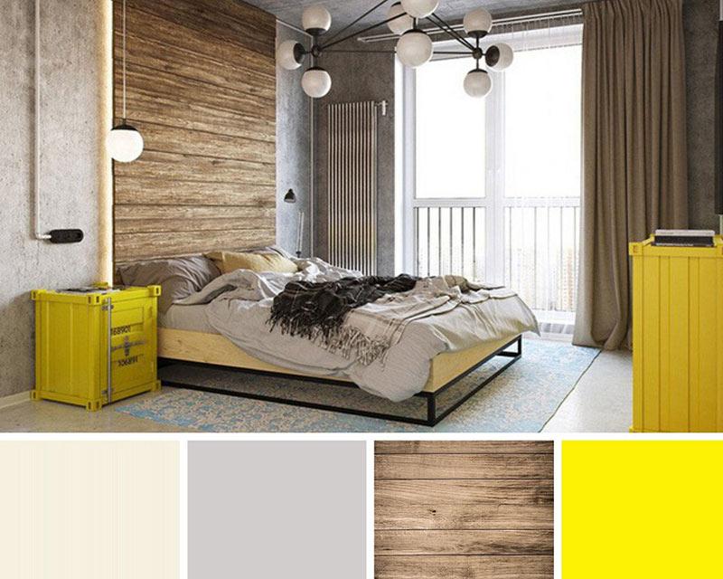 Phòng ngủ màu be