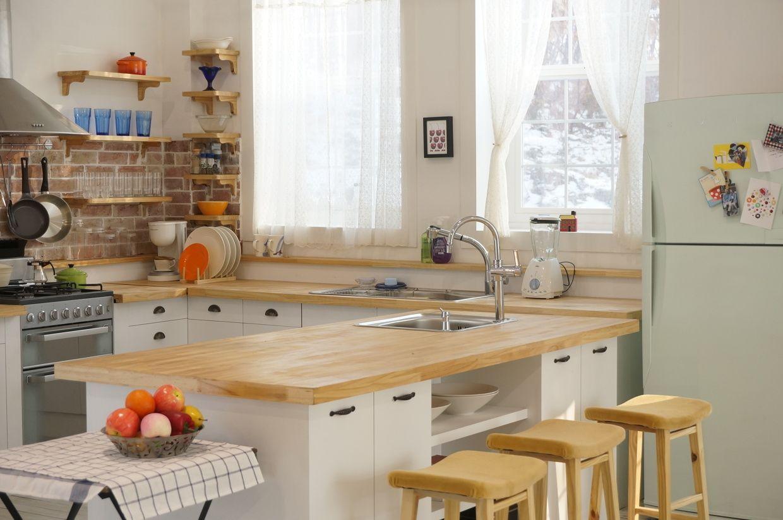 Phòng bếp với thiết kế thông minh, đơn giản và gọn gàng