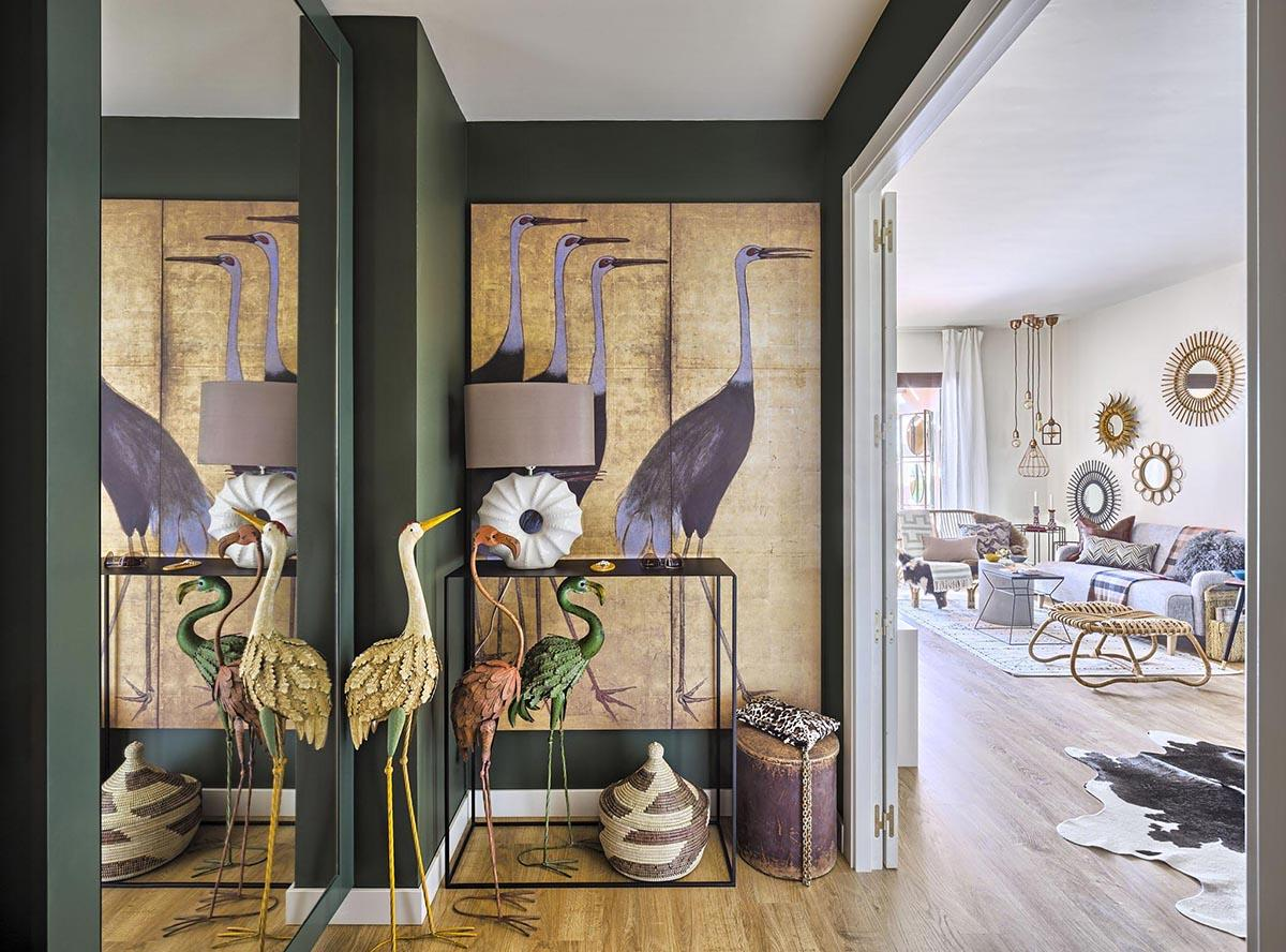 Nội thất trong phong cách Eclectic mang đến sự tôn trọng cá nhân và tự do