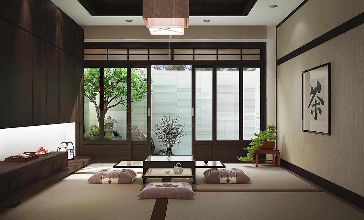 Phong cách Zen Mang theo nguyên lý triết học truyền thống của Nhật Bản