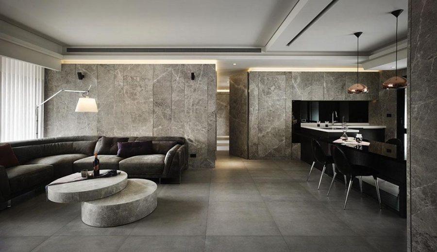 Càng đơn giản càng tốt là tiêu chí hàng đầu trong phong cách thiết kế nội thất này