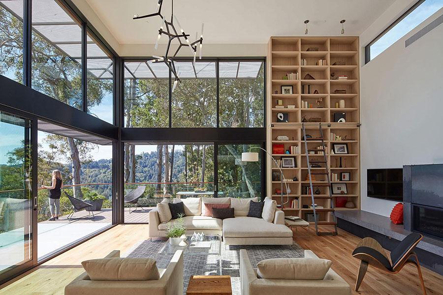 Phong cách đương đại đem các chi tiết thiết kế nội thất đi xa hơn.