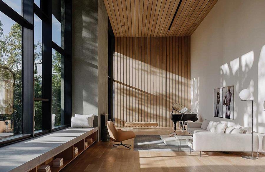 Vật liệu nội thất là một trong những yếu tố định hình lên ngôi nhà bạn