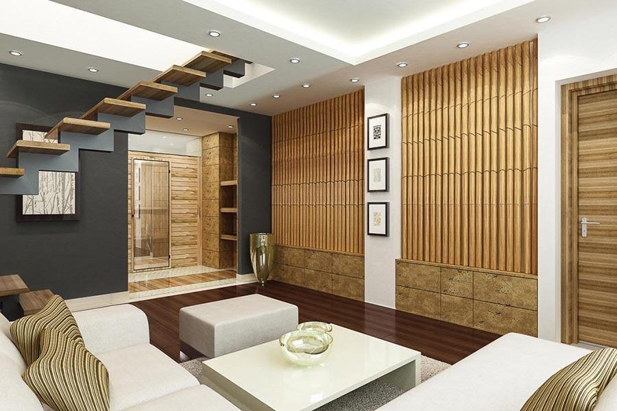 Tận dụng nguồn vật liệu có sẵn trong thiên nhiên để thiết kế chúng thành vật liệu nội thất