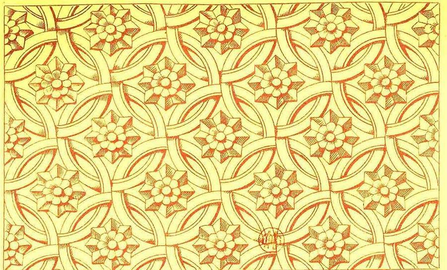 Họa tiết Kỷ Hà là một điểm nhấn đặc biệt của thiết kế Đông Dương