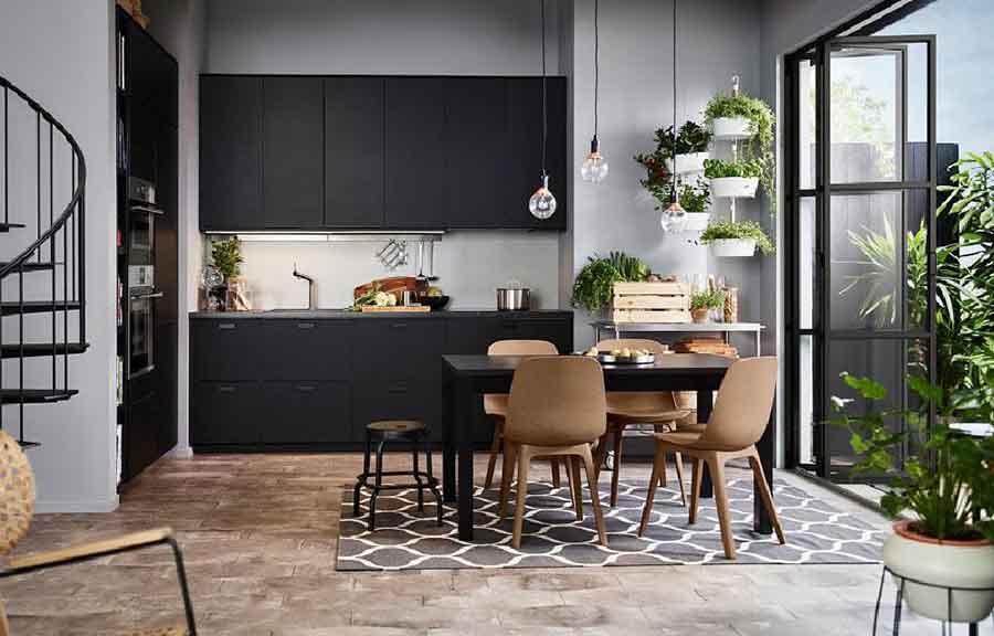 Đồ nội thất Eco được thiết kế theo phong cách cực đơn giản theo dạng hình học