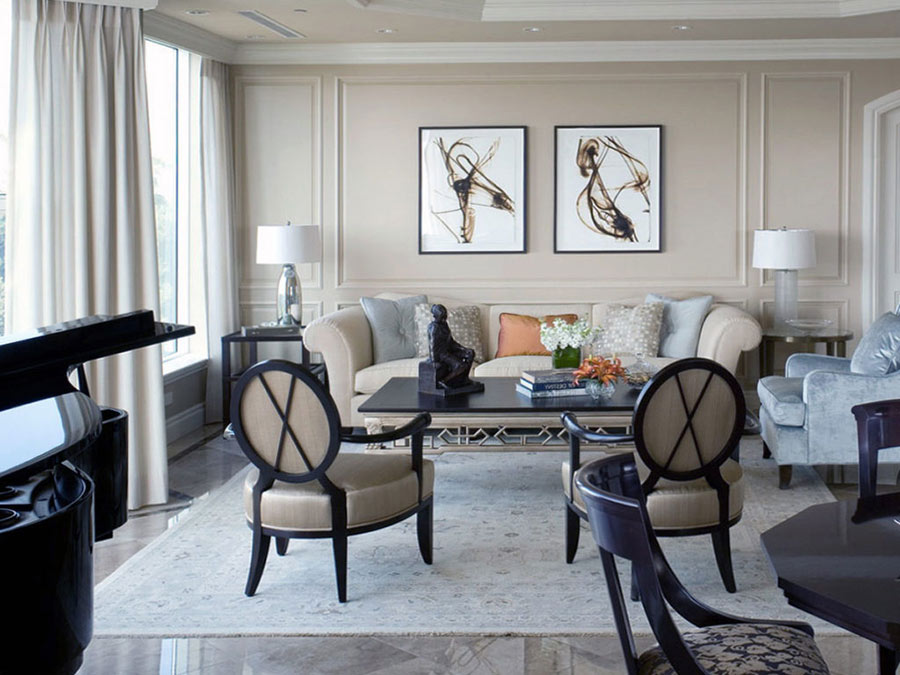Phong cách thiết kế nội thất đương đại là sự giao thoa của nhiều phong cách khác