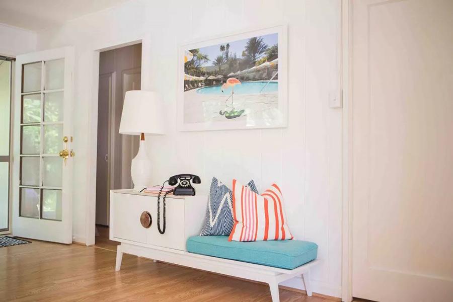 Phụ kiện nội thất sử dụng cho phong cách Retro