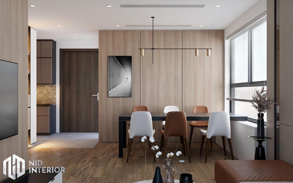 Thiết kế nội thất căn hộ Diamond Celadon City - Bàn ăn