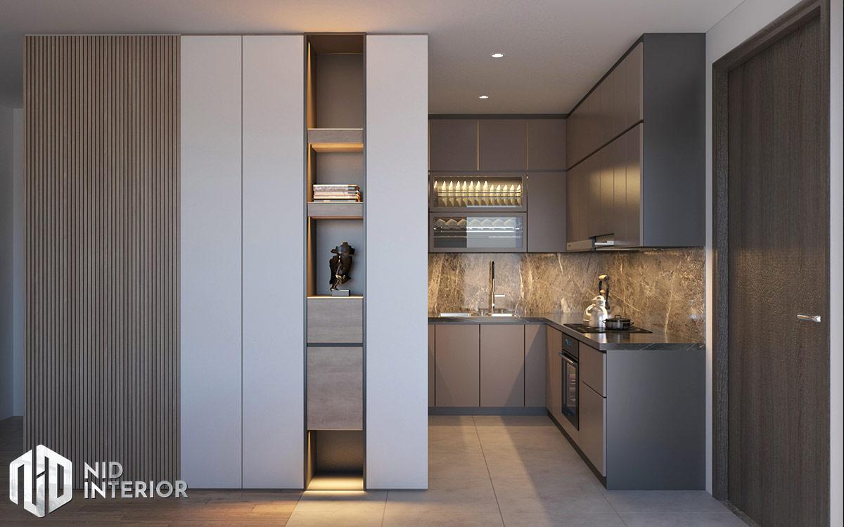 Thiết kế nội thất căn hộ Diamond Celadon City - Bếp