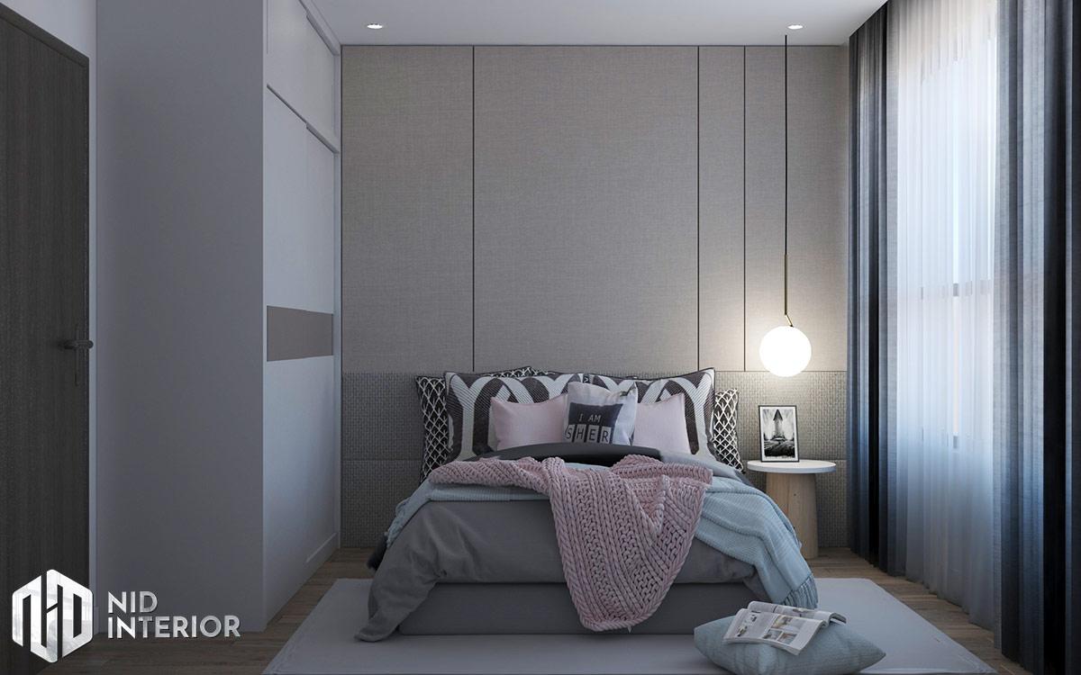 Thiết kế nội thất căn hộ Diamond Celadon City - Phòng ngủ nhỏ