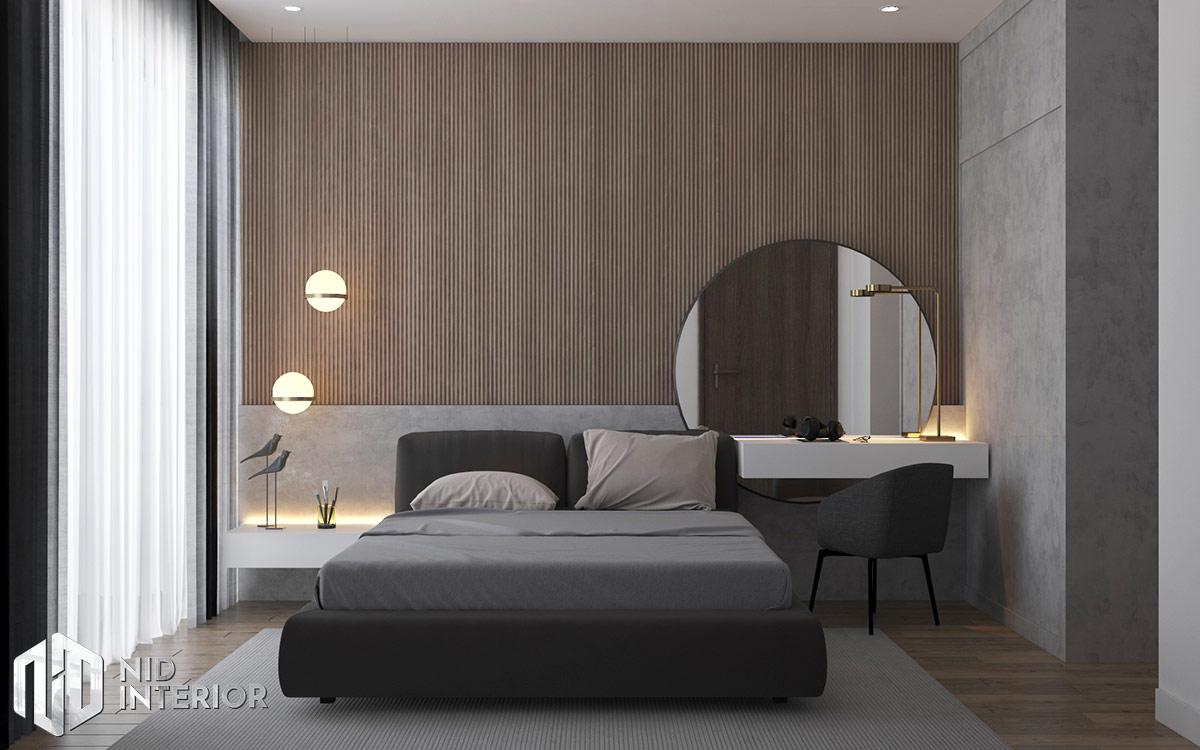 Thiết kế nội thất căn hộ Diamond Celadon City - Phòng ngủ master
