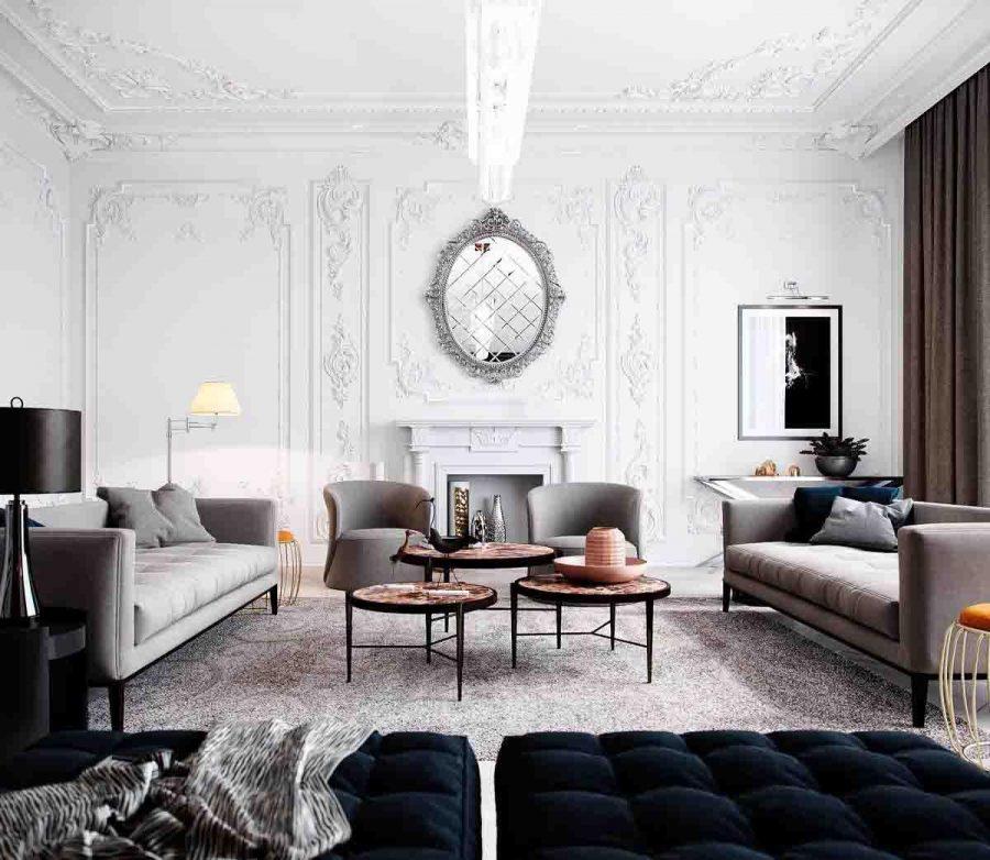 Thiết kế phòng khách đẹp là một điều không đơn giản