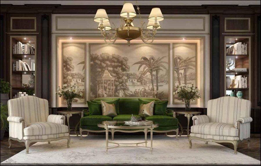 Thiết kế phòng khách cổ điển - Tại sao không?
