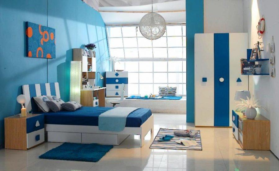 Màu sắc ấm áp và thanh bình cho phòng ngủ của con