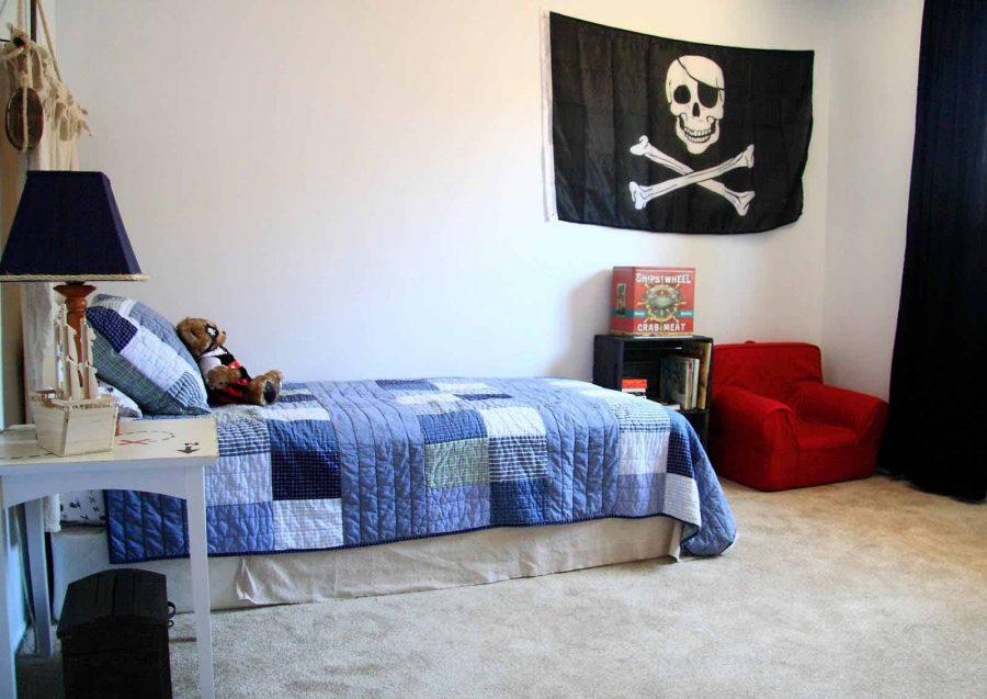 Phòng ngủ của một cậu bé cá tính