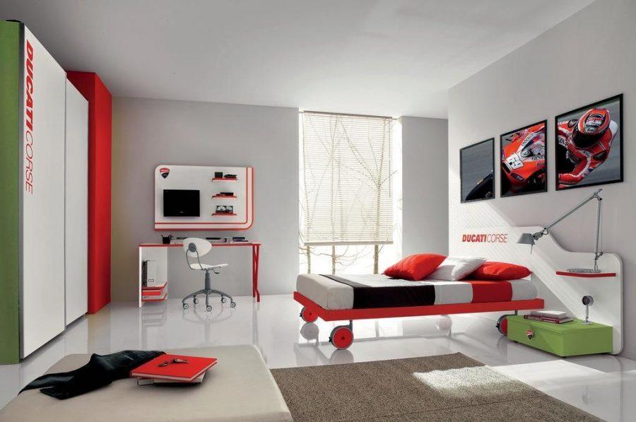 Phòng ngủ hiện đại và cao cấp của bé trai