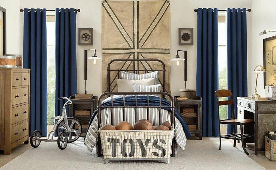 Thiết kế phòng ngủ bé trai nên có nguồn ánh sáng tự nhiên