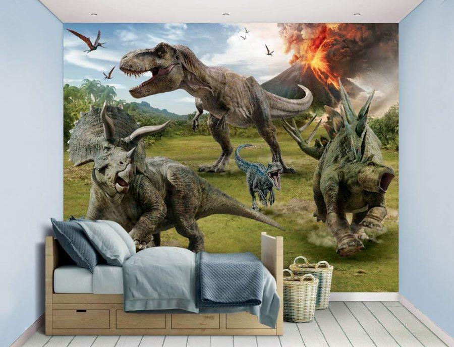 Các bé trai hầu như đều rất yêu thích khủng long