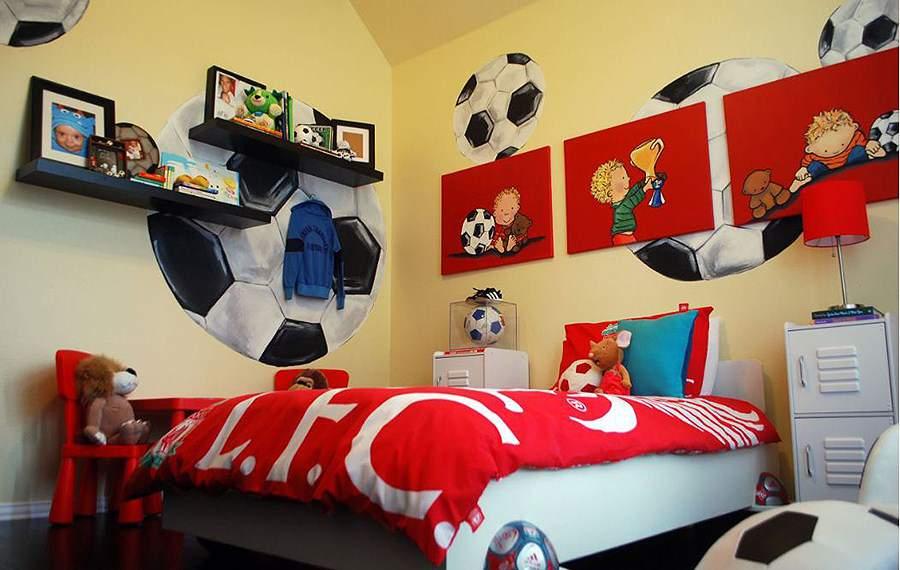 Thiết kế phòng ngủ bé trai theo đúng đam mê của con