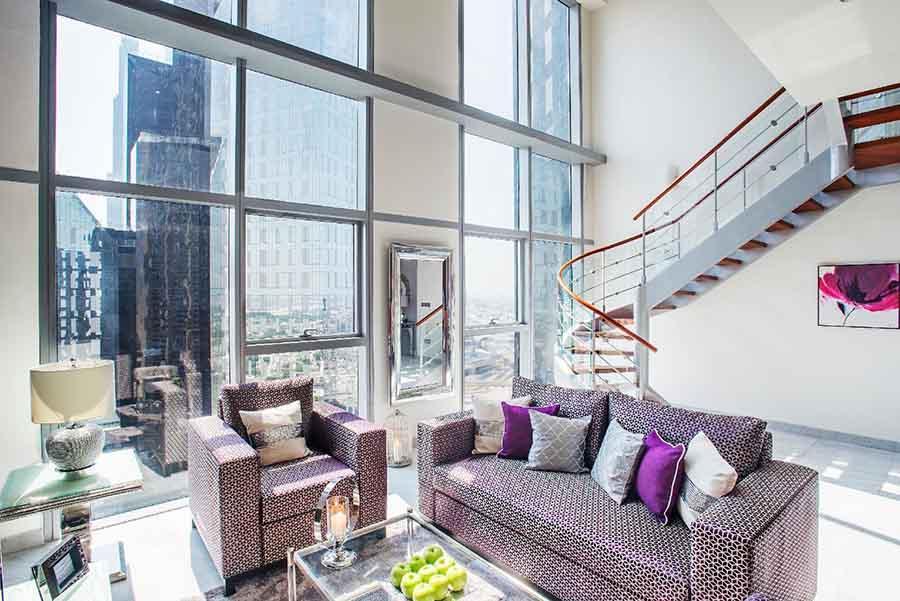 Điểm chung của các căn hộ Duplex thường có diện tích khá lớn