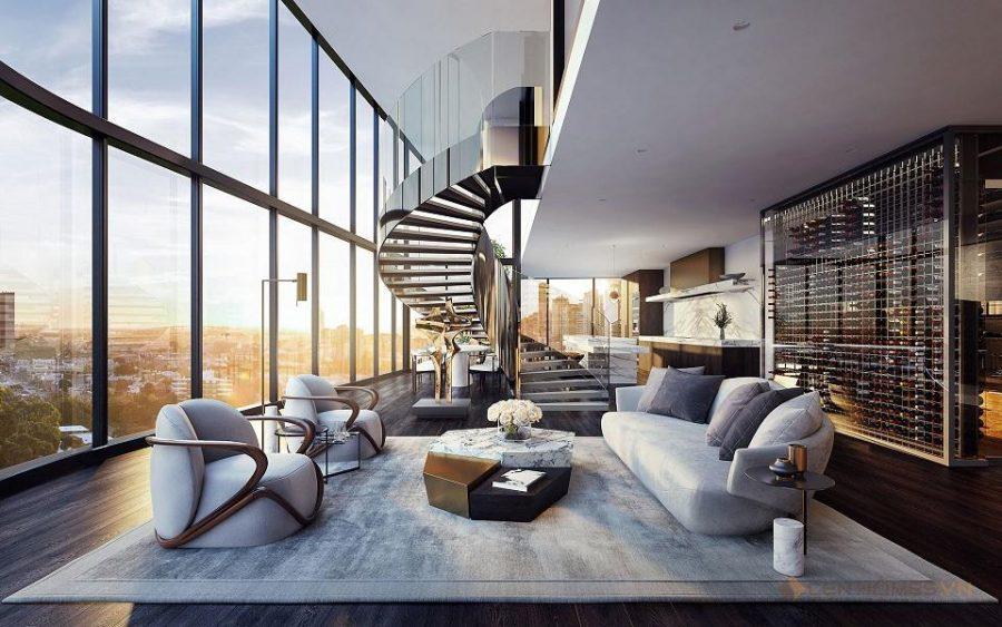 Những căn hộ Penthouse được rất nhiều người yêu thích