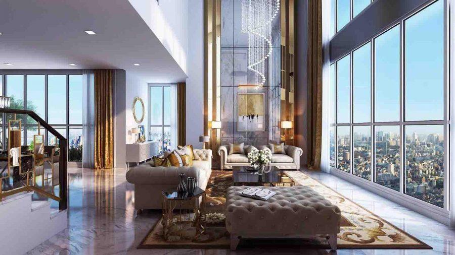 Penthouse là một thuật ngữ chỉ căn hộ nằm trên tầng cao nhất của một tòa nhà