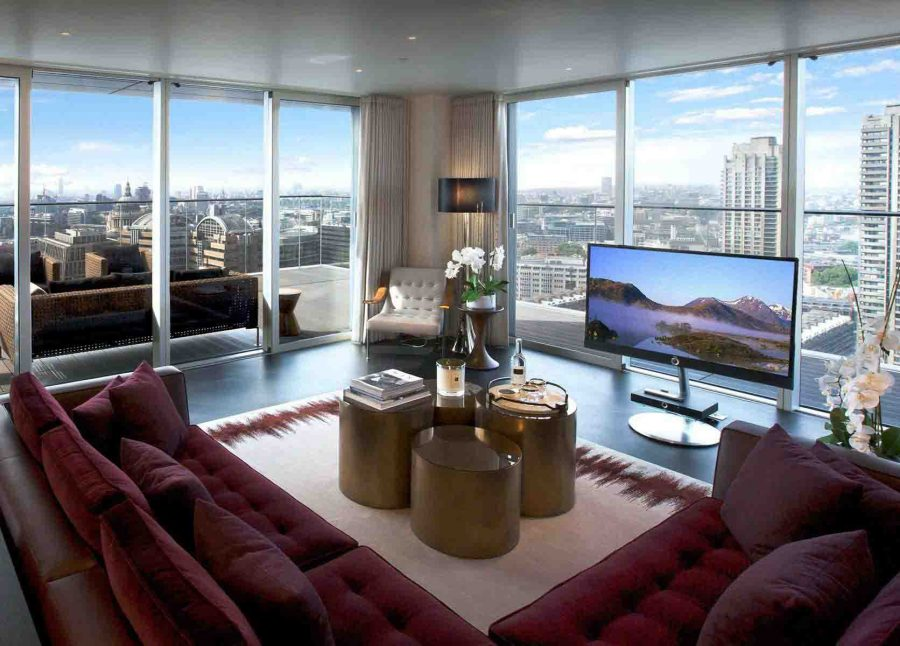 căn hộ Penthouse THE HERON, LONDON