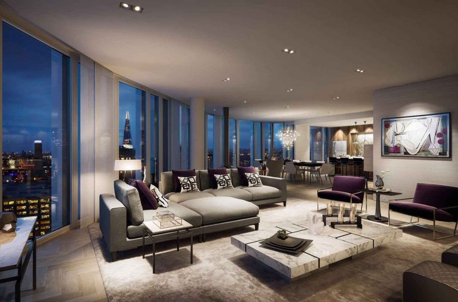 căn hộ Penthouse SOUTH BANK TOWER, LONDON