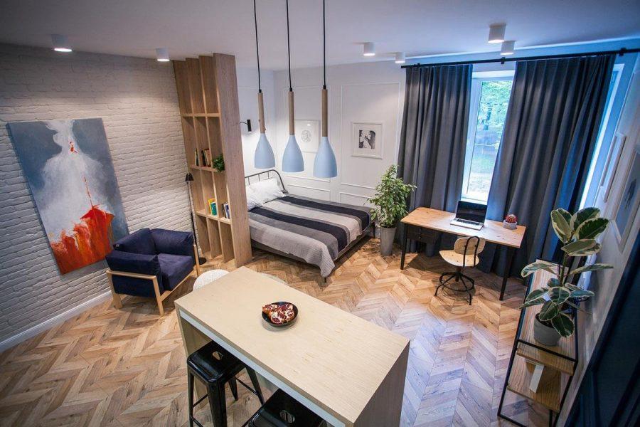 Căn hộ Studio là những căn hộ nhỏ