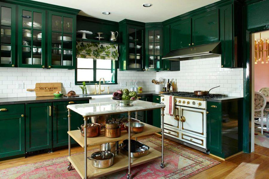 Màu xanh trong thiết kế nội thất mang đến sự tích cực
