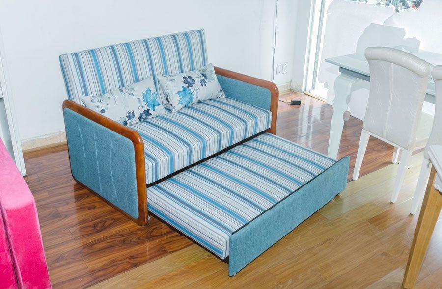 Ghế sofa tích hợp chung với giường ngủ